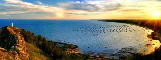 Guangdong, China: the silver beach