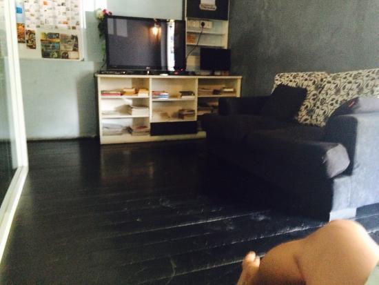 Reggae Penang Love Lane Hostel: Upstairs lounge