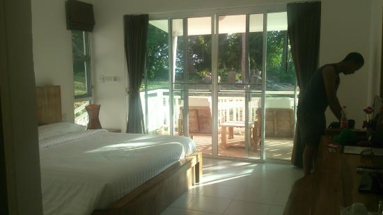 Bay View Resort: Room with the lovely aircon