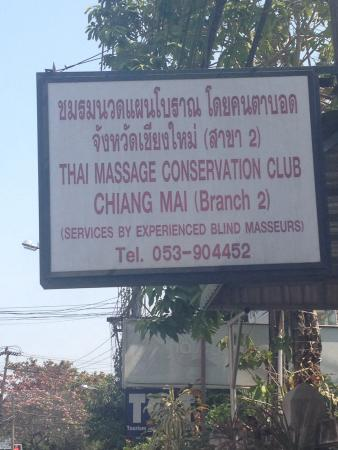 Association Massage Chiang Mai of Blind