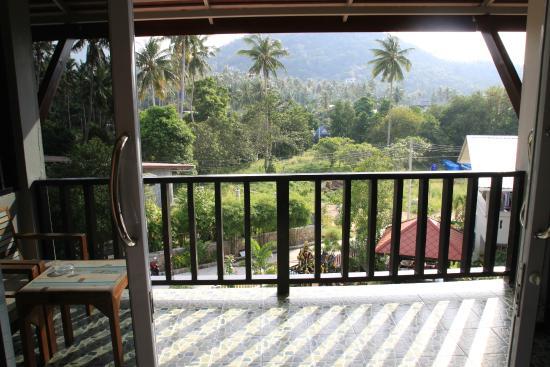 Nadapa Resort Koh Tao: Балкон