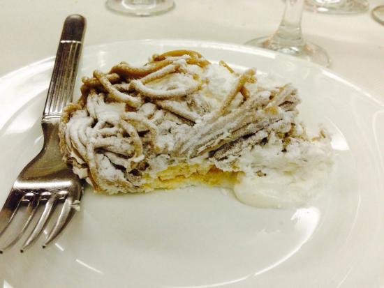 La Mimosa Fiorita : Mont blanc divino!!!