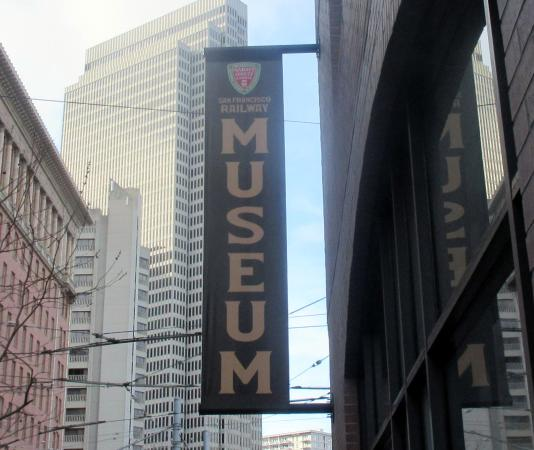 San Francisco Railway Museum, San Francisco, Ca
