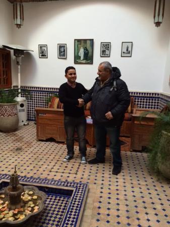 Riad Le Marocain: With Hasan