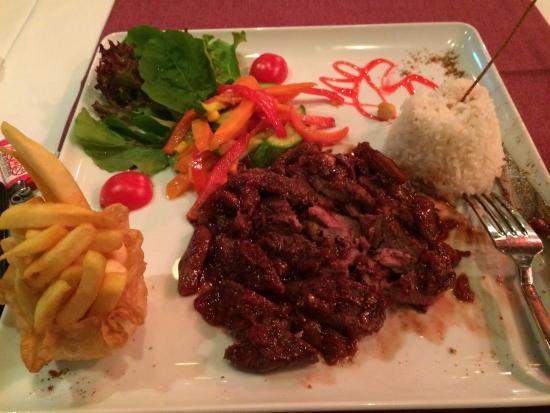 Antique Turquoise Restaurant : Incli steak at turquoise