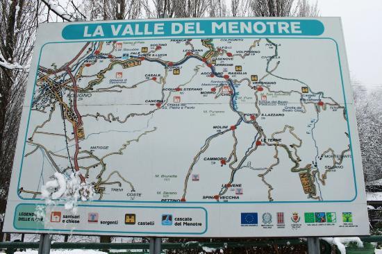 Guesia Village Hotel and Spa : La valle