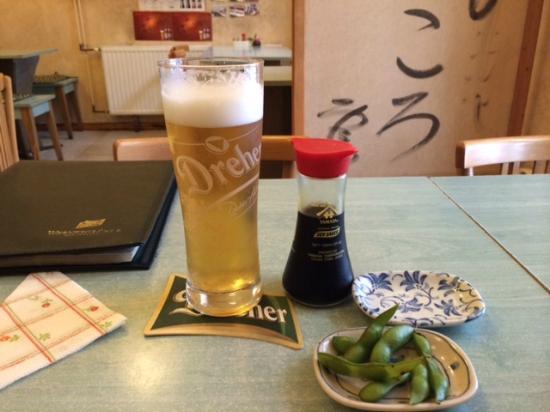 Arigato: ビールとおつまみ