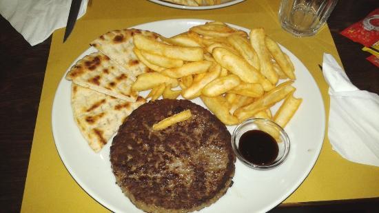 Cucchiare: maxi burger