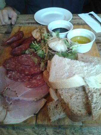 The George Inn: Rustic sharing platter