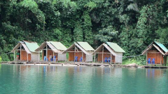 Khao Sok Green Mountain View Resort in Paradise: Houseboats @ Khao Sok