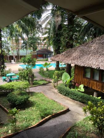 Blue Village Resort: View from our house