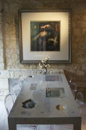 Chartreuse Le Cariol: Dining room in the cottage