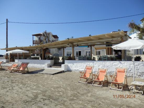 Nissaki Beach Hotel Naxos: Plage