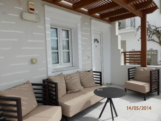 Nissaki Beach Hotel Naxos: Chambre