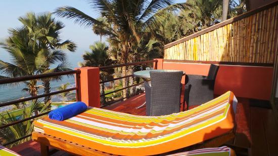 Fajara, غامبيا: Macondo suite - first floor balcony