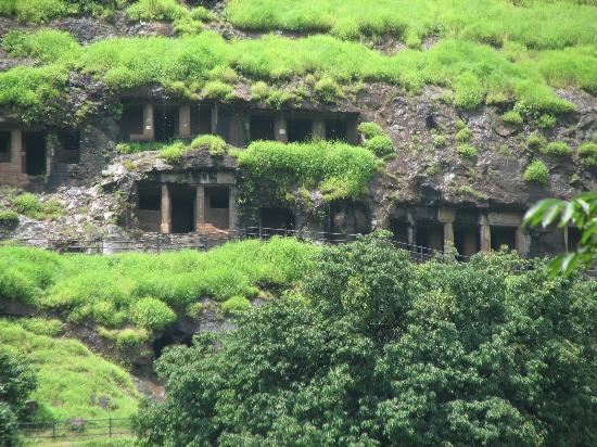 Mahad, India: Another view of the caves