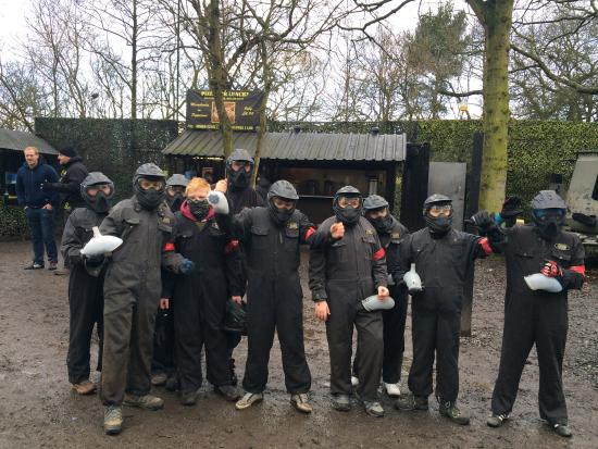 Delta Force Paintball Holmes Chapel: Ready for action