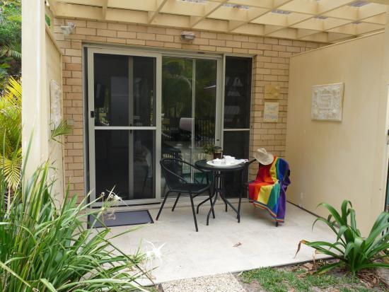 Noosa Cove Holiday Apartments : Pool Side Studio