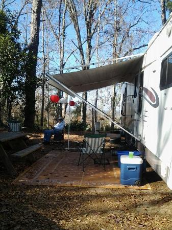 Torreya State Park : Love our campsight