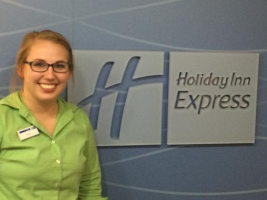 Holiday Inn Express Bemidji: Super staff at this HIEX