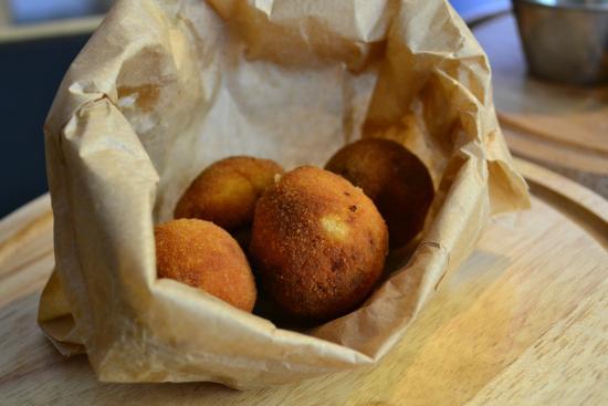 Ruzanuvol Craft Beer & Food : Croquetas caseras buenísimas