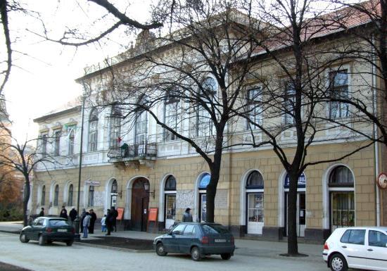 Hajdunanas, Венгрия: Kéky Lajos Művelődési Központ főbejárat
