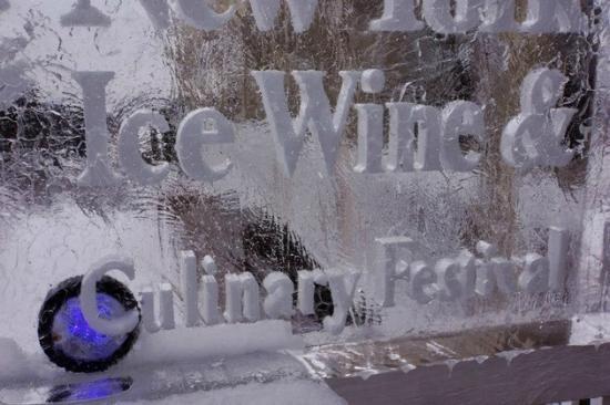 Casa Larga Vineyards: Ice Bar at the NY State Ice Wine and Culinary Festival