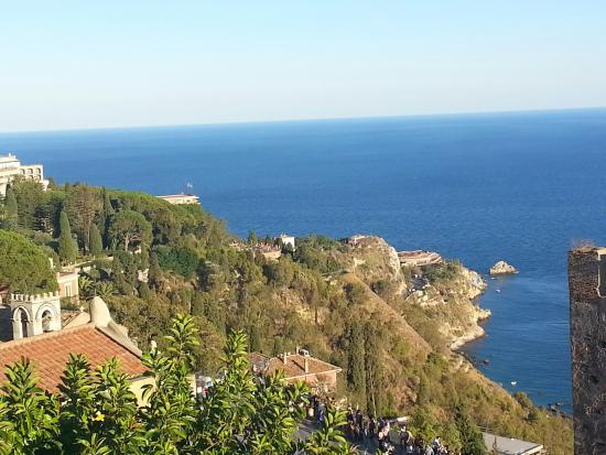 Vello D'Oro Hotel: Taormina Hotel View