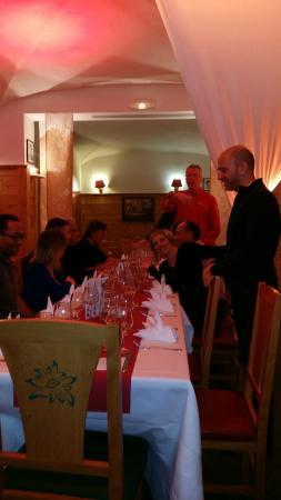 Club Med Arcs Extreme : salle à mange... r surprise de mathilde