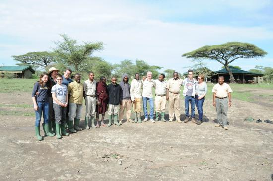 Ang'ata Camp Serengeti : Farewell...