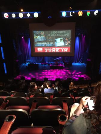 Balcony view from last row - Picture of The House of Blues ...