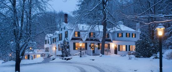Garden Gables Inn: Winter