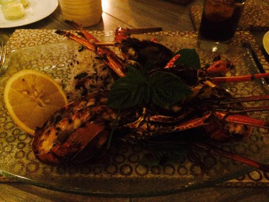 Nelayan Restaurant: The perfect lobster!