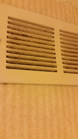 Hawthorn Suites By Wyndham Jacksonville: Air condition vent