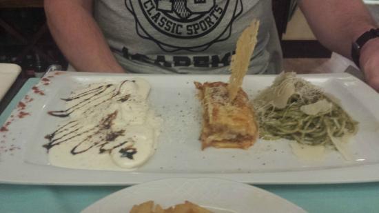 Divina Italia: stunning trio of pasta fresh!
