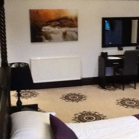 Carlton Manor Hotel: large room
