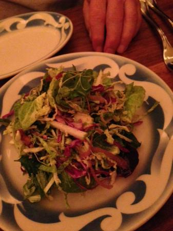 Commerce: sprout and beet salad