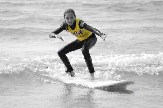 Loredo, Espagne: SURFEA Y DISFRUTA!!! Con seguridad
