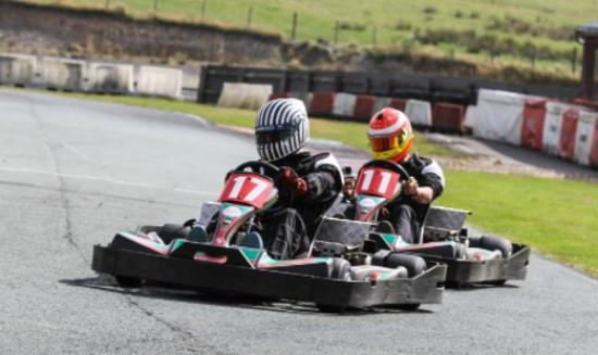 400cc Twin Engine Pro-Karts - Picture of GYG Karting