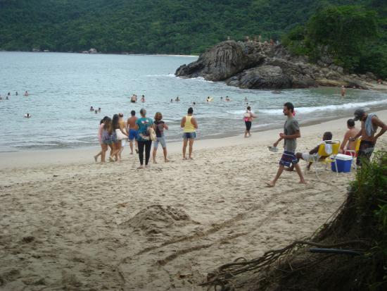 Trindade: Praia sem perigo
