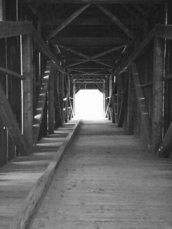 Wawona, Kaliforniya: Covered bridge.