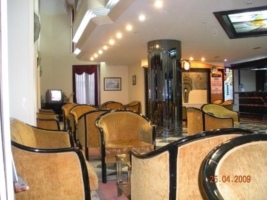 Tayhan Hotel : фойе