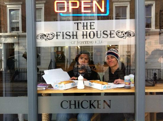 Fish and chips bild von the fish house of notting hill for House notting hill