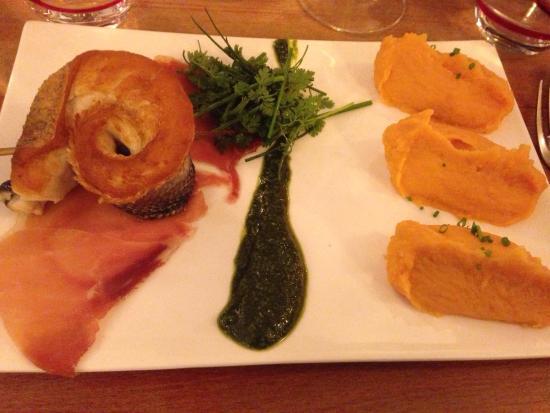 Filet de bar jambon pesto tr s savoureux picture for Intuition gourmande paris