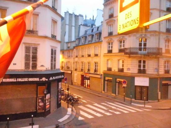 Hotel Des 3 Nations: Veduta dalla camera