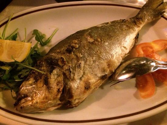Ristorante Pizzeria Il Rusticone: Pesce alla griglia.