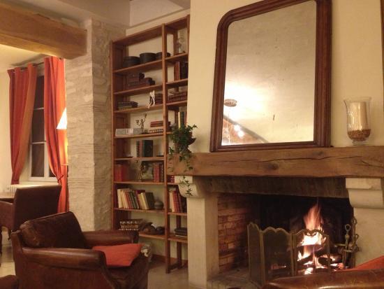 L'Aunette Cottage : Notre Coin Lounge