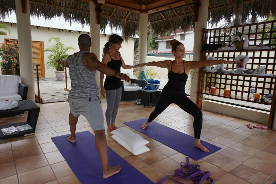 The SPA Retreat Boutique Hotel : Private yoga session