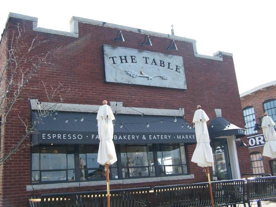 The Table : Entrance!