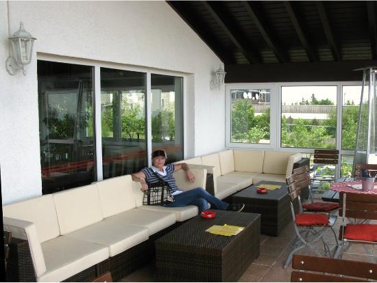 Sitzecke Terrasse gemütliche sitzecke auf der großen terrasse bild feldberghof